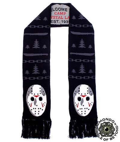 FRIDAY THE 13TH SCARF