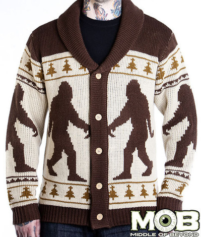BIGFOOT SASQUATCH CARDIGAN