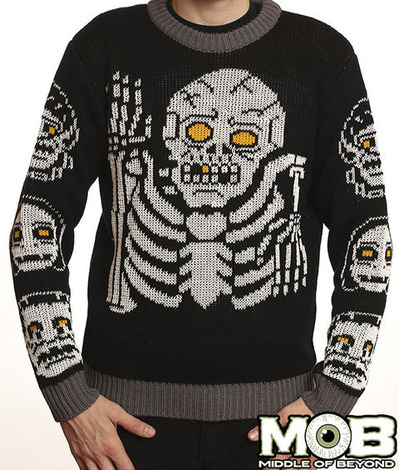 GLOW SKELETON SWEATER
