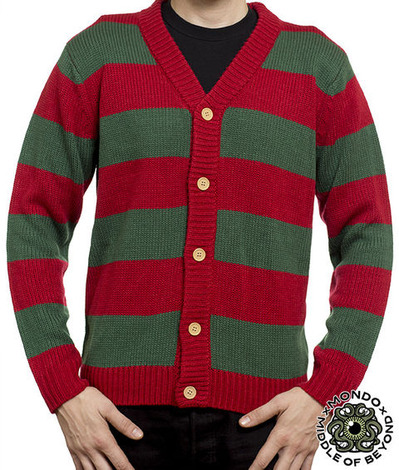 A NIGHTMARE ON ELM STREET CARDIGAN