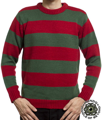 A NIGHTMARE ON ELM STREET VERSION 2 SWEATER