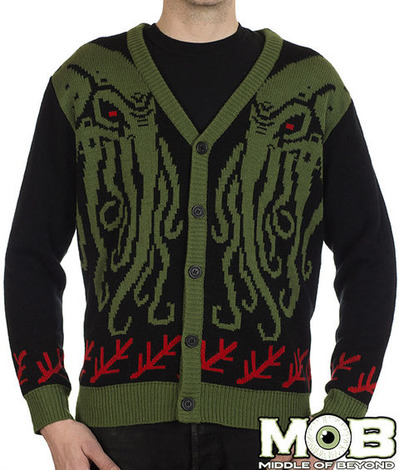 CTHULHU LOVECRAFT CARDIGAN