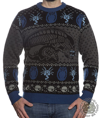 ALIEN MOVIE XENOMORPH SWEATER
