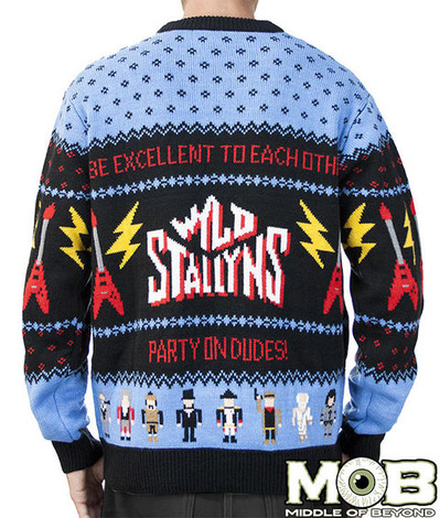 BILL AND TED SWEATER BACK