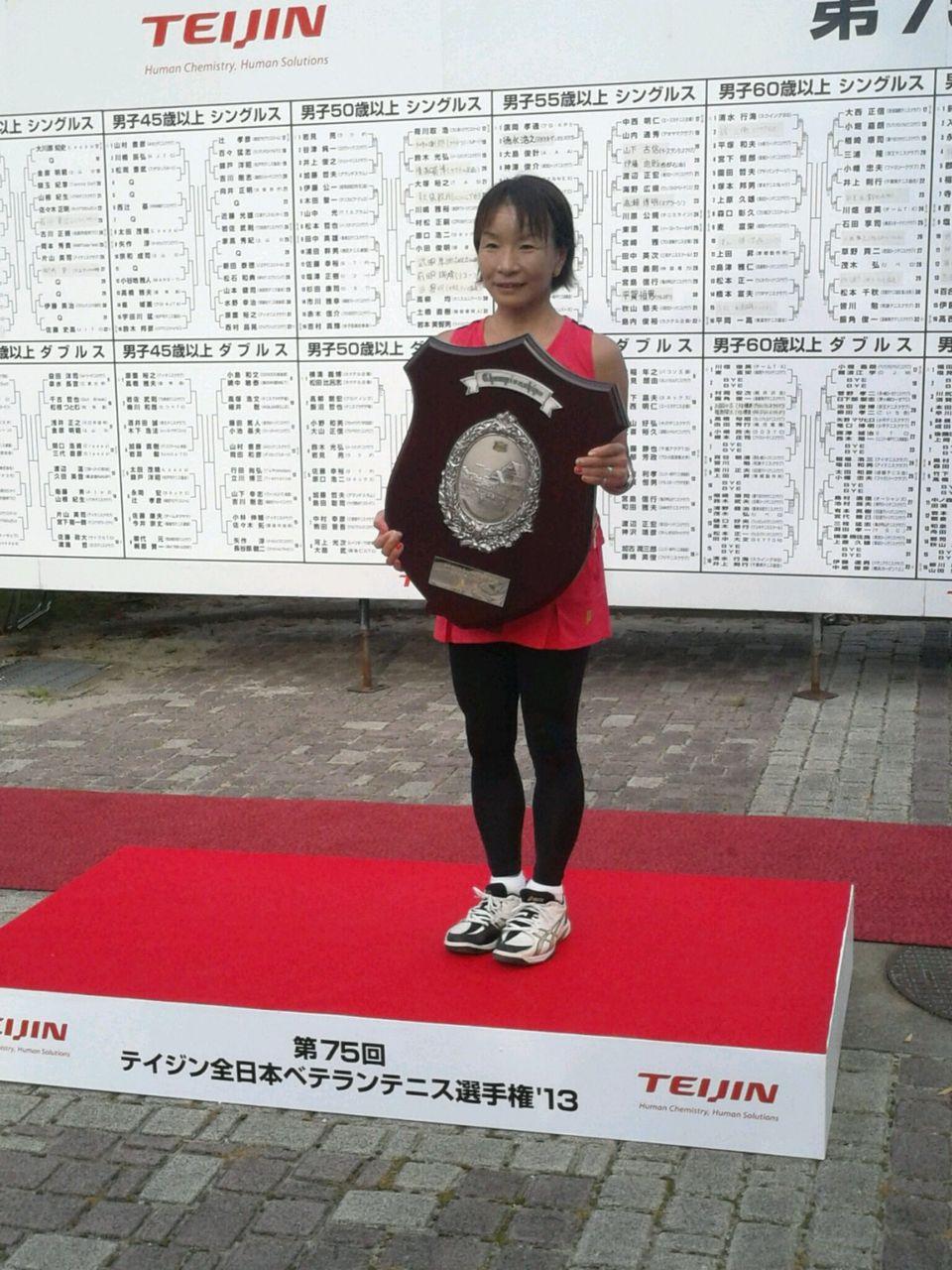 全日本 ベテラン テニス 選手権 2019