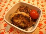 鶏そぼろのポテト焼き