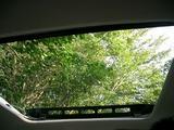 車の屋根からマイナスイオン