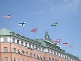 ストックホルムは国旗好き?!