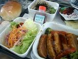 FINNAIRの機内食
