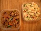 筑前煮とポテトサラダ