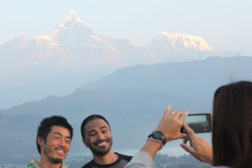 Iポカラ ネパール
