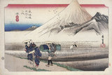 原宿 朝の富士