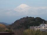 新坂橋の富士