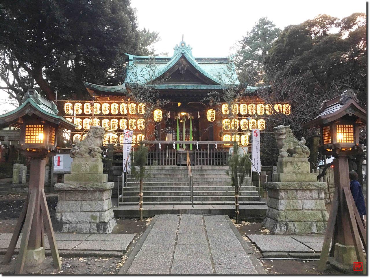 小山八幡神社拝殿
