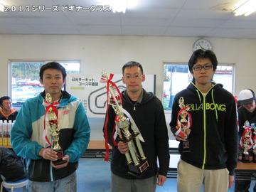 2013シリーズビギナークラス入賞者