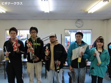 Rd.5ビギナークラス入賞者