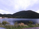 赤城山大沼湖畔