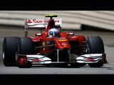 F1シンガポールGPポールポジションのフェルナンド・アロンソ