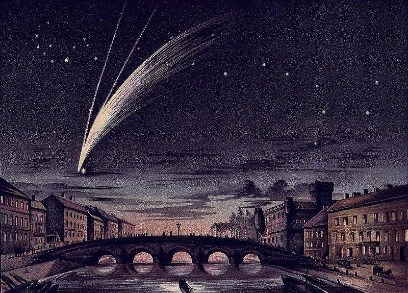 E.ヴァイス『ドナーティの彗星』YI1u
