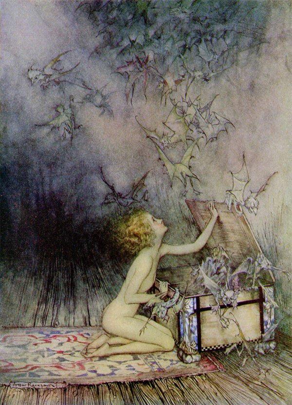 Pandora, by Arthur Rackhamnm3B
