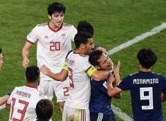 サッカーアジア杯 日本対イラン戦で両軍入り乱れる乱闘騒動