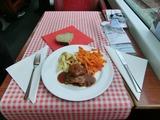 Gracier Express昼食