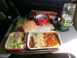 カンタス機内食