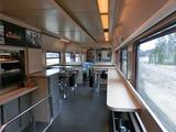 IC Turku行き食堂車2