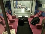 Berlin-Warszawa Express車内