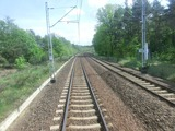 Berlin-Warszawa Express後方展望