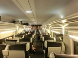 TGV Lyria車内
