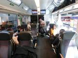 Luzern-Interlaken-Express車内