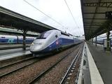 TGV Lyria@リヨン駅
