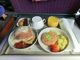 TGV Lyria車内食