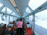 Gracier Express車内2