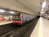 リスボン地下鉄@Entrecampos
