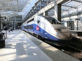 TGV@Charles de Gaulle駅