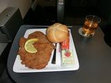 夕食on Railjet