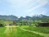 Luzern-Interlaken-Express車窓