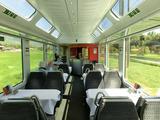 Luzern-Interlaken-Express食堂車