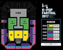 Seat_iMe Kpop Fantival 2017