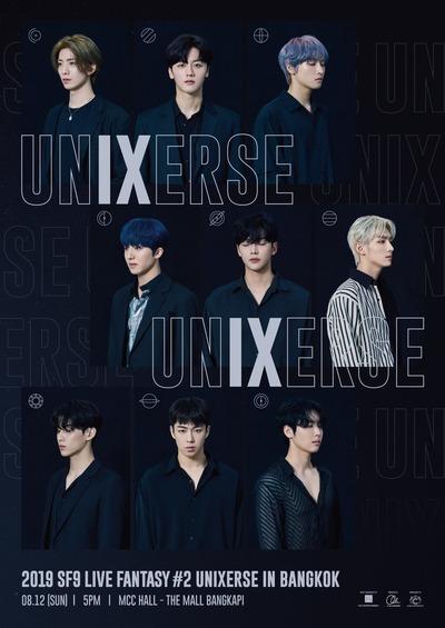 2019 SF9 LIVE FANTASY #2 UNIXERSE IN BANGKOK_poster