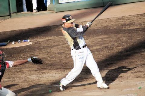 【速報】BC栃木・村田さん、支配下登録期限前最後の試合は4打数2安打1四球