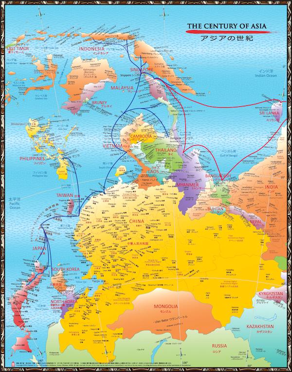 160927RyukyuTrade on Asia map