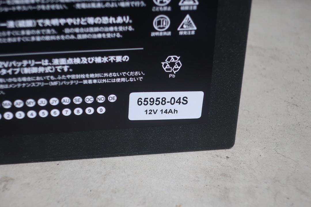 スポーツスター883Rバッテリー交換 (9)