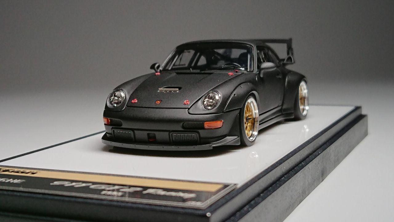 1995 Porsche 911 993 gt2 evo Street White 1:43 Minichamps DIECAST