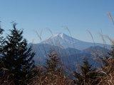 九鬼山からの富士山