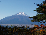 御正体山からの富士山