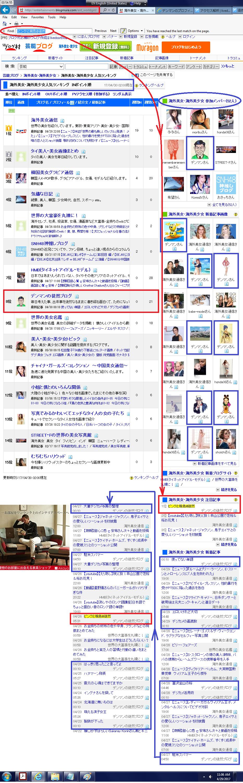 「にほんブログ村」の海外美女・海外美少女人気ランキングのページ