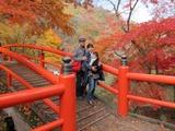 河鹿橋にて2012